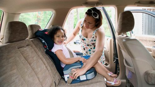 Car Restraint and Road Safety